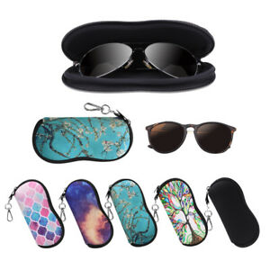 Portable-Glasses-Case-with-Carabiner-Hook-Eyeglasses-Sleeve-Pouch-Travel-Bag