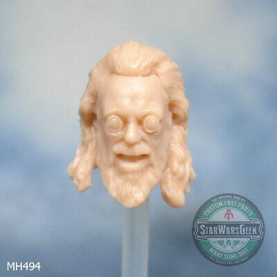 "MH504 Custom Cast head use w//3.75/"" Marvel Uni GI Joe Star Wars Fallout figures"