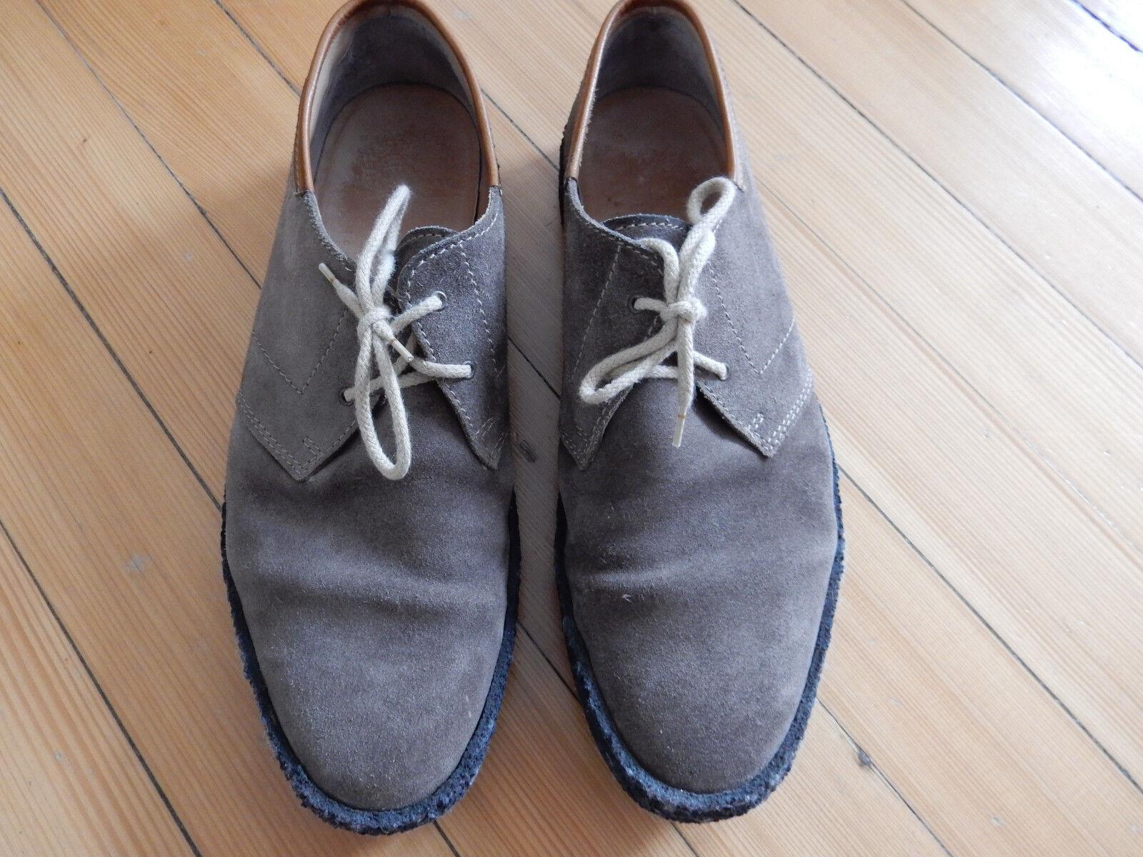 Northern cobbler # @ England # schöne Halbschuhe # 45 # cobbler Wildleder Natur Kreppsohle a204f2