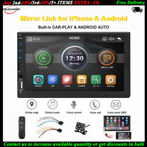 7-039-039-2-Din-Autoradio-Siri-Android-Auto-Camara-MP5-iOS-Enlace-Espejo-FM-BT