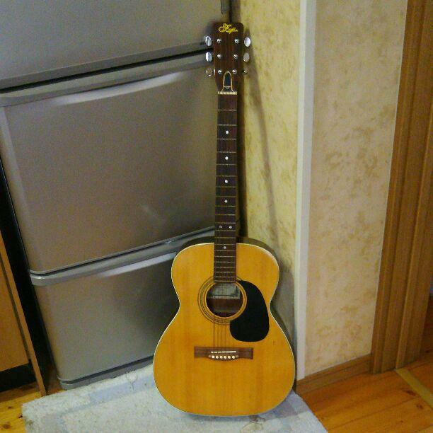 FUJI folk guiter f-120 JAPAN beautiful rare EMS F S