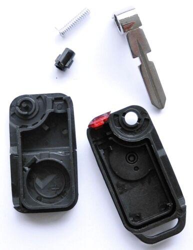 2x auto plegable carcasa llave para Benz w124 w208 w210 124 a e g sl sprinter