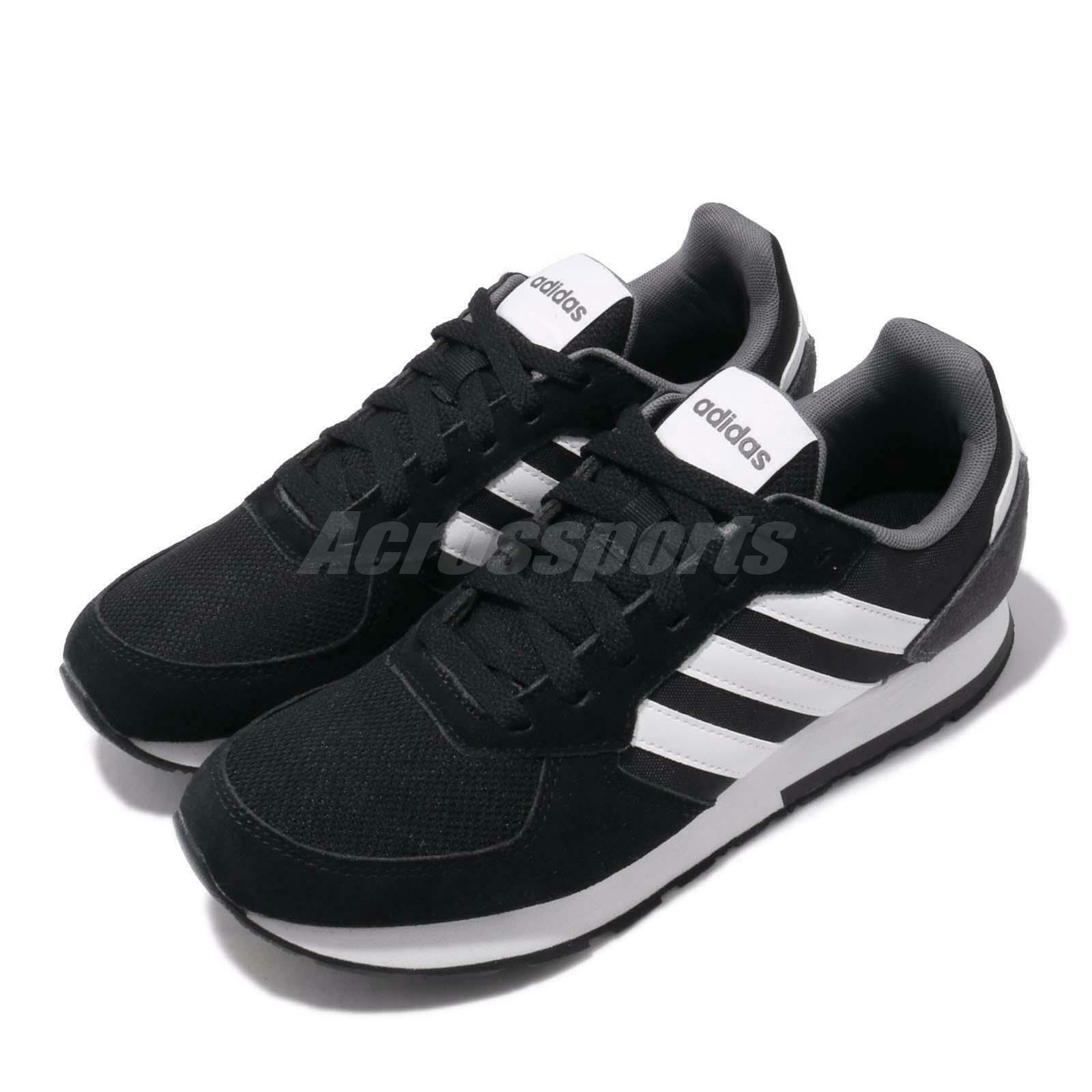 Adidas 8K Black White Grey Men Running Casual Lifestyle shoes Sneakers B44650