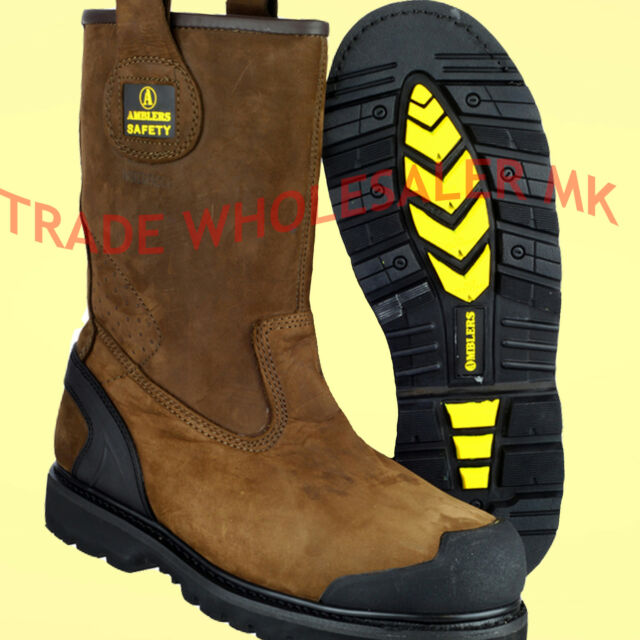 afdb77ddd33 Amblers Safety Rigger Boots- New Advanced Build Year Round Rigger Boots  FS223