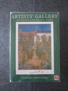 PUZZLE-1000-El-jardin-del-artista-en-Vetheuil-de-Monet-de-ARTIST-S-GALLERY