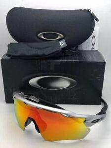 9f44881d32548 New OAKLEY Sunglasses RADAR EV PATH OO9208-02 Silver-Black Frame w ...
