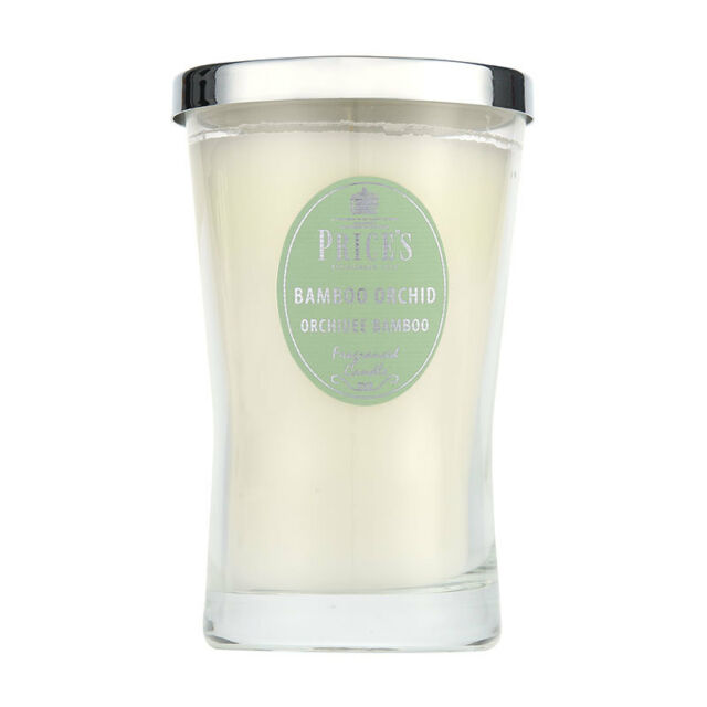Price's Bamboo & Orchid Large Signature Candle