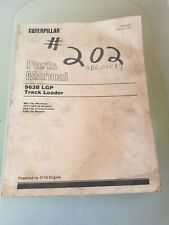 New Listingcaterpillar 963b Parts Manual