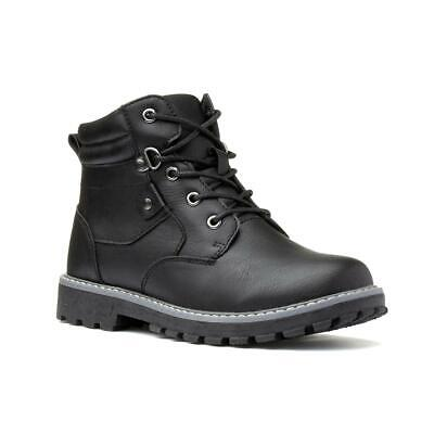 Boys Ankle Boot Lace Up Boot in Black