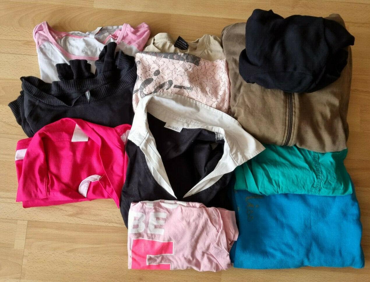 11 Teile Bekleidungsset Hosen Pulli viel von Fishbone adidas 40 42