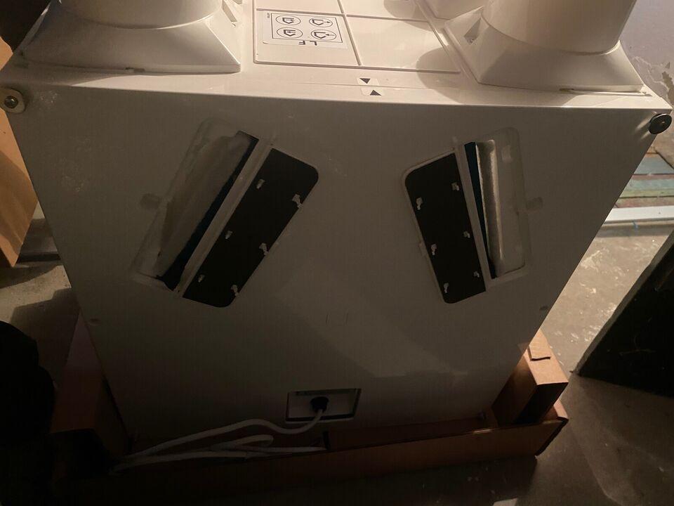 Varmegenvinding, Vent-axia genvækst / ventilations