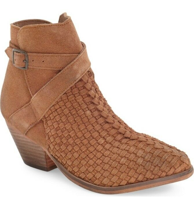 shopping online di moda Free People  Venture    Woven Suede Ankle stivali Sz 7.5 38 M NIB  i nuovi marchi outlet online