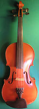 Geige, Bubenreuth, E.H.Roth 1963, Brandmarke, rissfrei, guterTon! ! (2990)