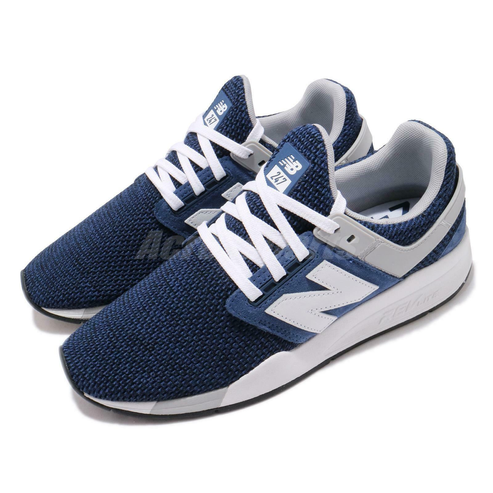 New  Balance MS247FK D bluee Navy White Grey Men Running shoes Sneakers MS247FKD  10 days return