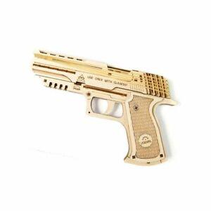 UGEARS-Modellbausatz-Wolf-01-Pistole