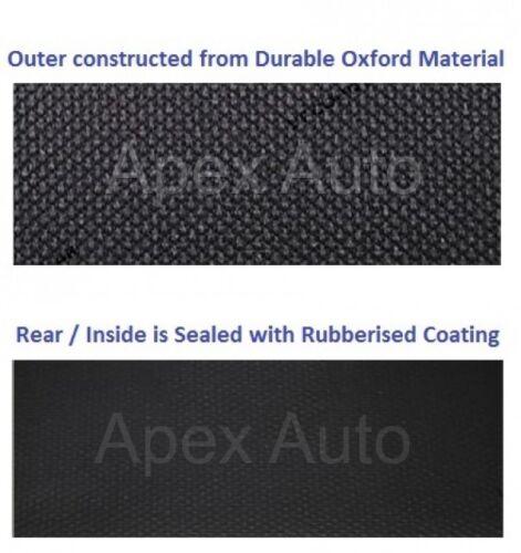 Toyota HIACE IMPERMEABLE Negro Custom Van Fundas De Asiento 100/% Impermeable Resistente