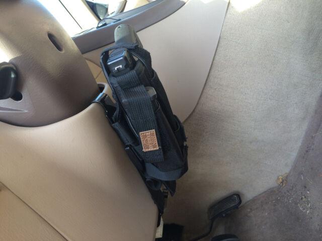 Vehicle Mount Accessories Car Truck Handgun Pistol Holster Conceal Ambidextrous