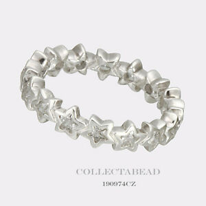 92597a89b Image is loading Authentic-Pandora-Silver-Starshine-Clear-CZ-Ring-Size-