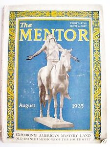 Vintage-Aug-1925-034-The-Mentor-034-Magazine-Exploring-America-039-s-Spanish-Missions