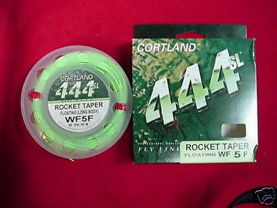 Cortland Fly Fly Fly Line Classic 444SL WF8F GREAT NEW 05885e