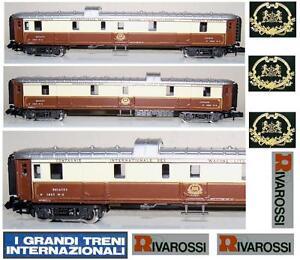 RIVAROSSI-9659-CARROZZA-BAGAGLI-CIWL-FOURGON-BAGAGE-VAN-CAR-Nr-1283-BOX-SCALA-N
