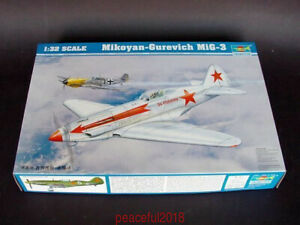 Trumpeter-1-32-02230-Mikoyan-Gurevic-h-MiG-3