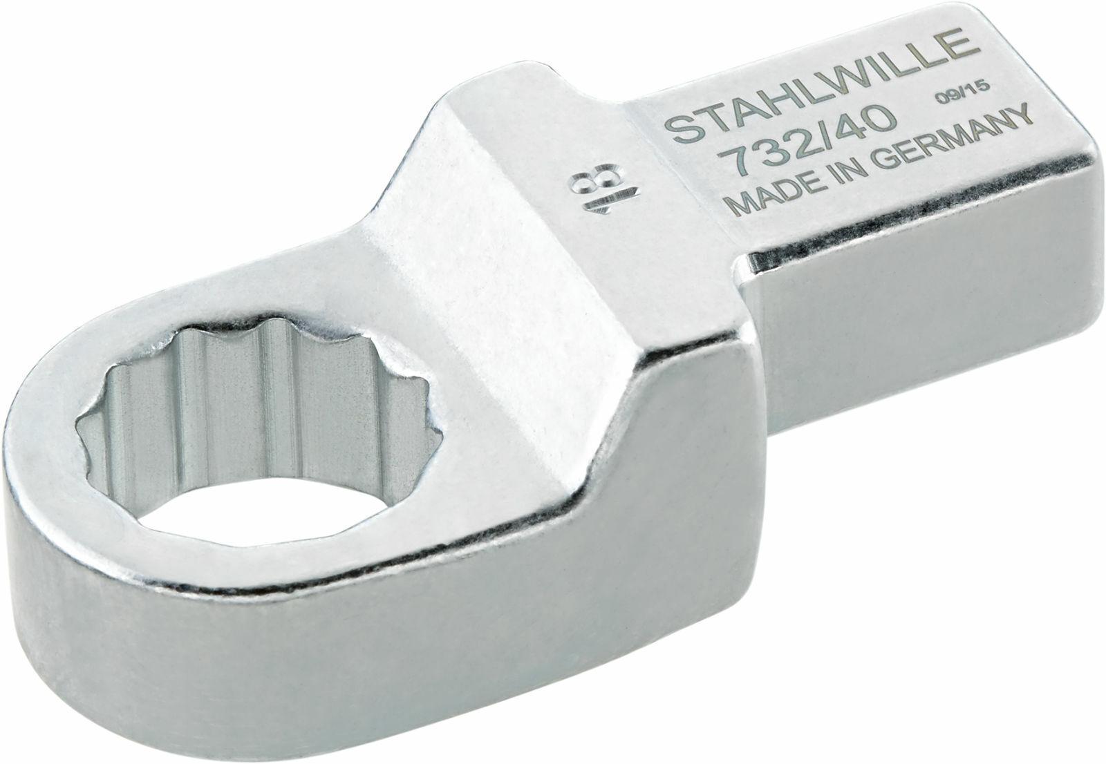 Stahlwille RING INSERT TOOL 14 X 18 MM 58224022