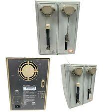 Gilson 402 Dual Syringe Pump 100 240 Volts