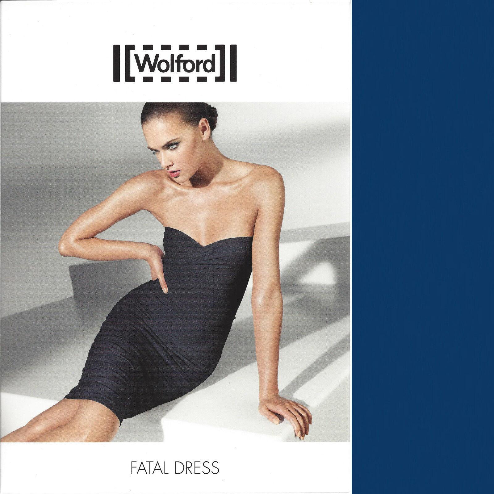 Wolford Fatal Robe-S-Electric-robe jupe MINI... tous azimuts en toute transparence