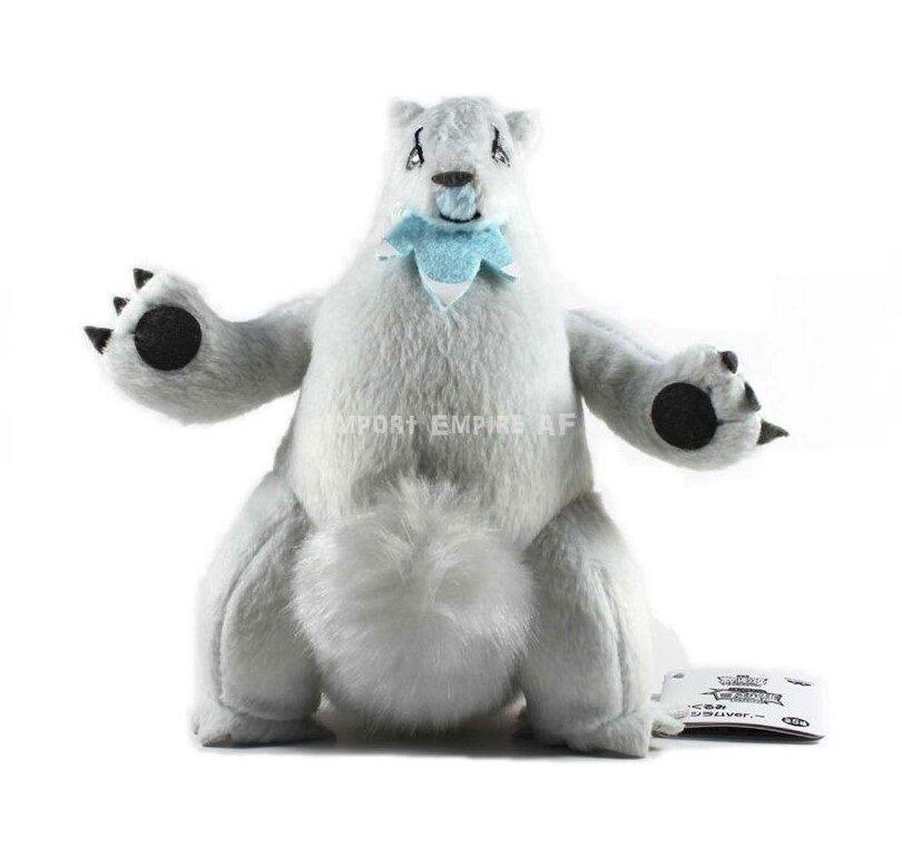 POKEMON BEARTIC SOFT TOY snowman plush Plüsch Polagriffe Parred Heatmor 614 X