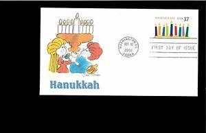 2002-First-day-Cover-Hanukkah-Washington-DC