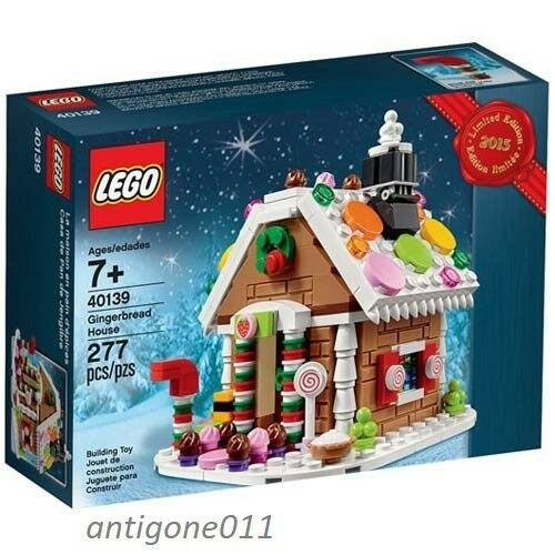 New LEGO Holiday Gingerbread House 40139  277 Pieces