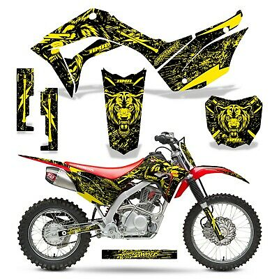 Honda GROM 125 Dirt Bike Graphic Sticker Kit Decal Wrap MX 2017-2019 NIGHTWOLF U