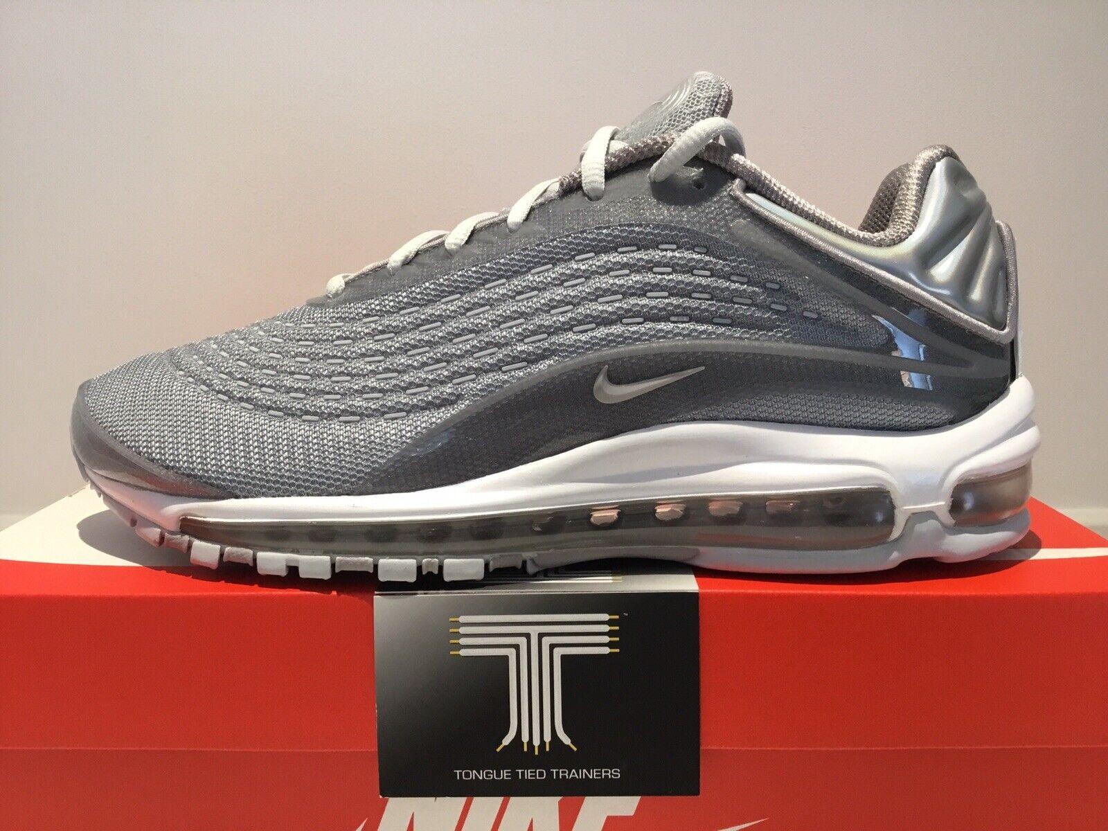 Nike Air Max Deluxe  Wolf grau  AV7024 001  Uk Größe 8