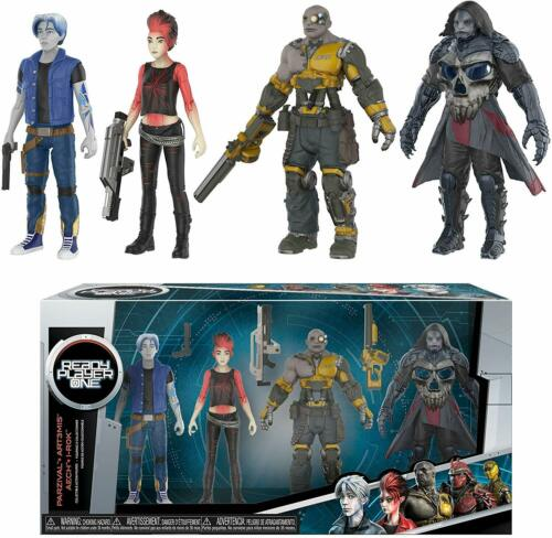 Parzival Aech Art3Mis Ready Player One I-R0K 4 Pack