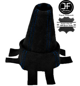 BLUE-FITS-HONDA-CIVIC-TYPE-R-FN2-2007-2012-GEAR-GAITOR-BLACK-SUEDE