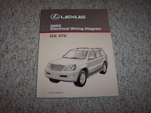 2003 Lexus Gx470 Gx 470 Factory Original Electrical Wiring