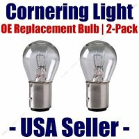 Cornering Light Bulb Oe Replacement 2pk - Fits Listed Cadillac Vehicles - 2057