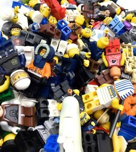 LEGO-LOT-OF-10-MINIFIGS-RANDOM-GRAB-BAG-GUYS-MIX-TOWN-CITY-STAR-WARS-FREE-SHIP