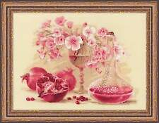 RIOLIS 1618 Pink Pomegranate Counted Cross Stitch Kit