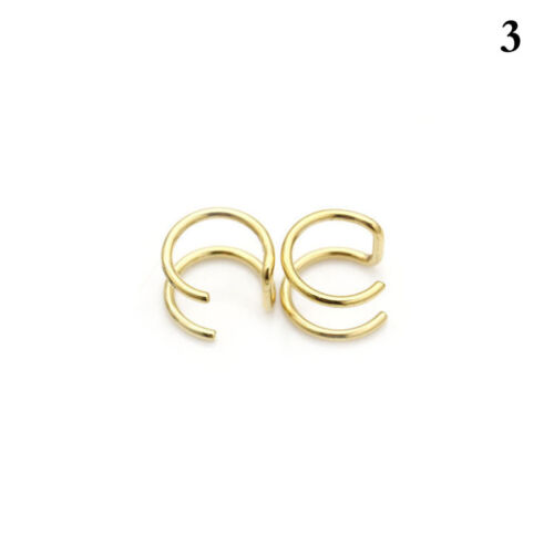 Nose Stud Fake Earrings Various shapes. 1 pair Non Piercing Magnet Ear