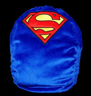 Reusable Baby Infant Nappy Modern Cloth Diapers and Insert embroidered superman