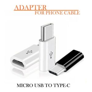 Transfert-de-donnees-d-039-adaptateur-micro-USB-vers-OTG-de-type-C-pour-Android