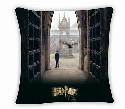 The New Harry Potter Square Pillowcase Throw Cushion 17''x17'' Pillow Cover Bed