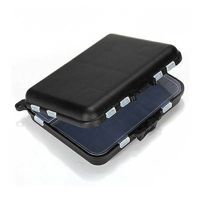 Waterproof Fishing Lure Bait Tackle Storage Box Case with 26 Compartments