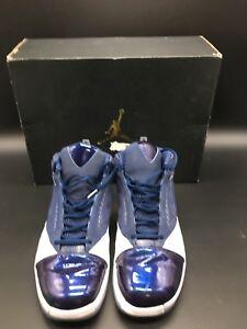 7d12bd8dcf12 Nike Mens Air Jordan 16 Retro White Midnight Navy 683075 106 Size 13 ...
