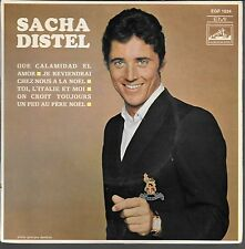 EP 4 TITRES--SACHA DISTEL--QUE CALAMIDAD EL AMOR / JE REVIENDRAI CHEZ NOUS...