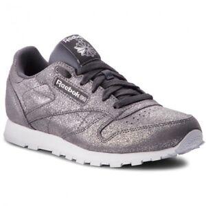 reebok scarpe argento
