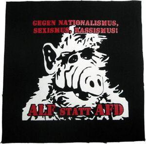 ALF-statt-AFD-Aufnaeher-Patch-Punk-Punkrock-Siebdruck