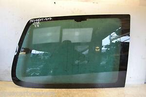 PEUGEOT 807 corps verre Conducteur Arrière 5 Porte MPV Arrière Quart corps verre 2008